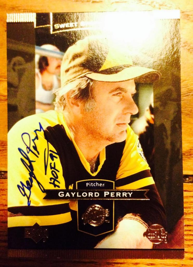 Gaylord perry bio